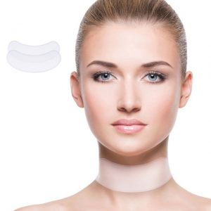 Neck & Face Anti-Wrinkle Silicone Pad Combo