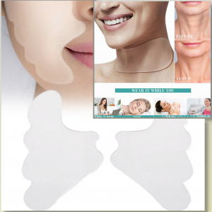 Neck,Chest & Face Anti-Wrinkle Silicone Pad Combo
